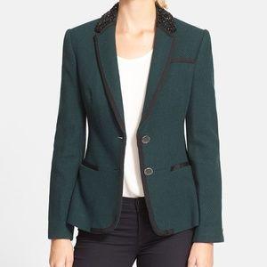 "Ted Baker ""Nariana"" Tweed Blazer, Size 4 (US 10)"